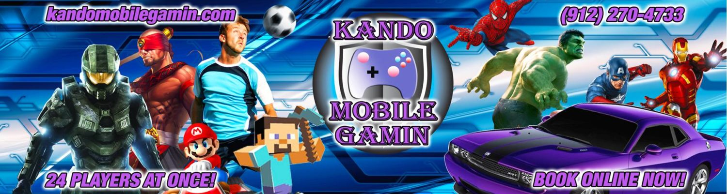 KANDO Mobile Gamin – Video Game Truck Parties in Georgia – Savannah, Ludowici, Hinesville & More!